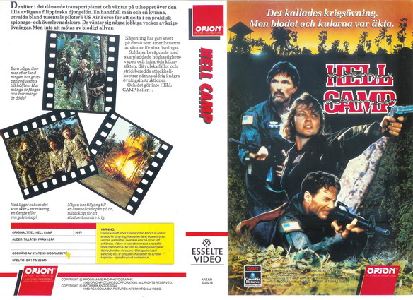25216 HELL CAMP (VHS)