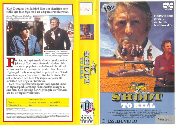 21046 SHOOT TO KILL (VHS)