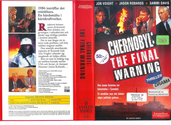 26382 CHERNOBYL:THE FINAL WARNING (VHS)