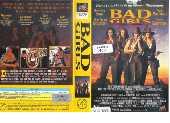 BAD GIRLS (VHS)
