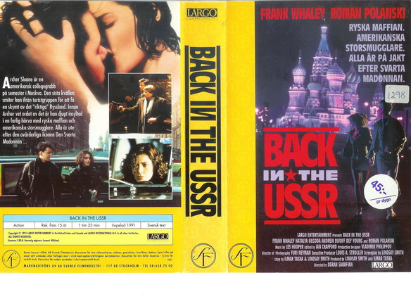 BACK IN THE USSR (VHS)