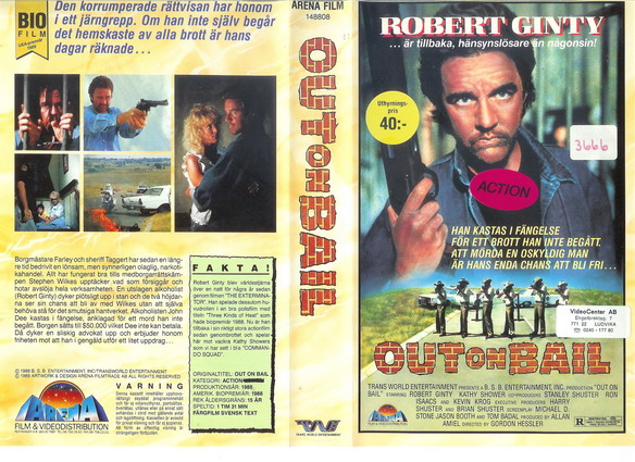 OUT ON BAIL (VHS)