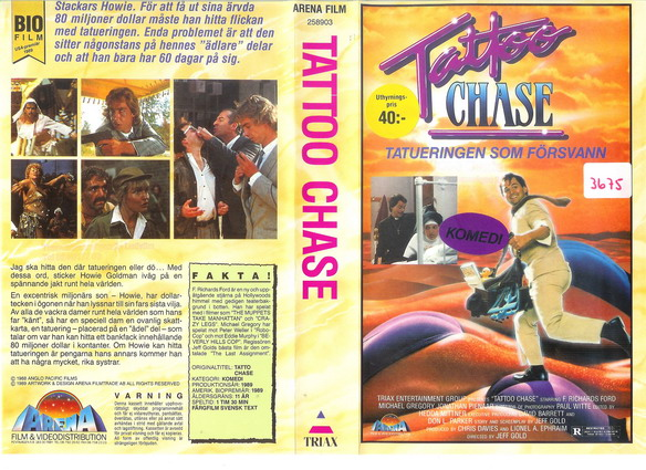 TATTOO CHASE (VHS)