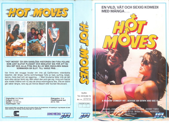 7685 Hot Moves (vhs)