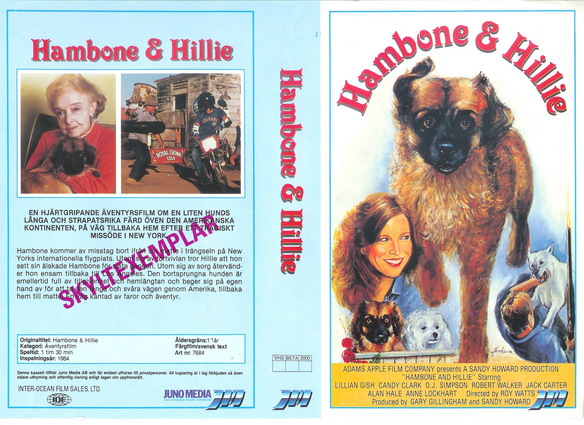 7684 Hambone And Hillie (VHS)