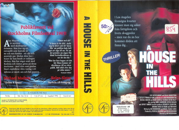 A HOUSE IN THE HILLS (VHS)