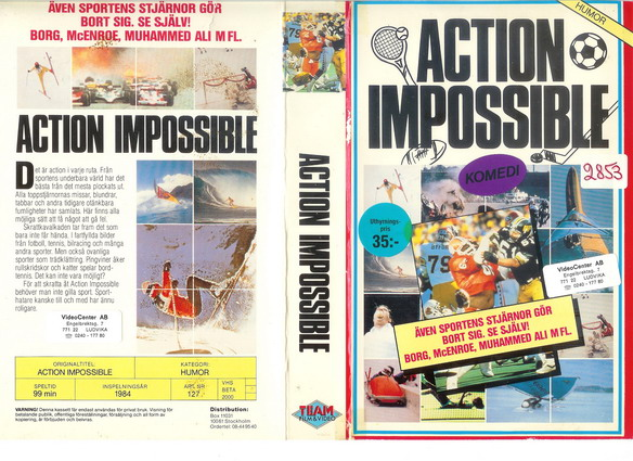 127 ACTION IMPOSSIBLE (VHS)