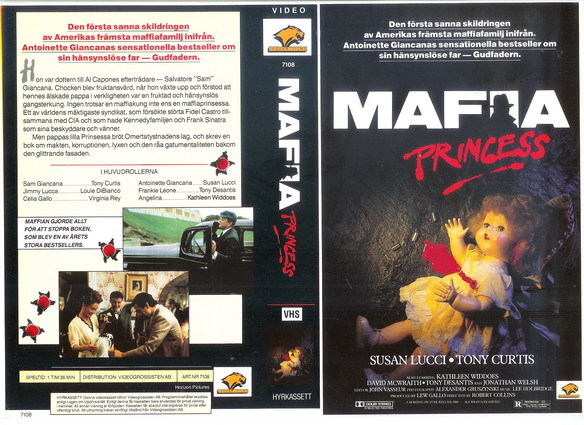 7108 MAFIA PRINCESS (VHS)