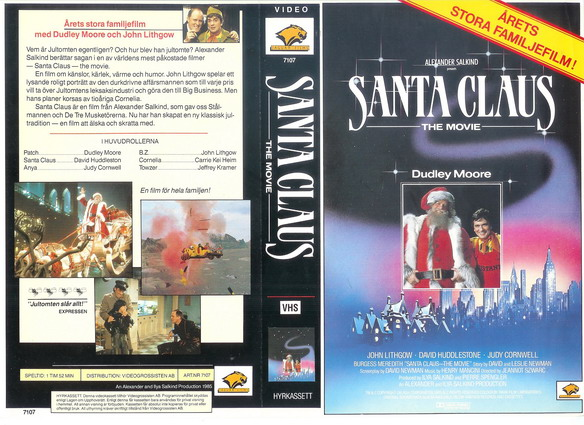 7107 SANTA CLAUS THE MOVIE (VHS)