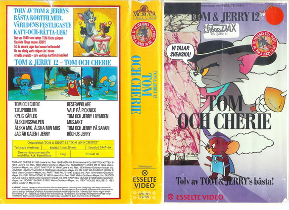 27190 TOM & JERRY 12 (VHS)