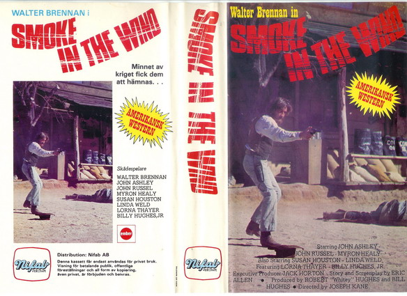 SMOKE IN THE WIND (VHS) kopierat omslag
