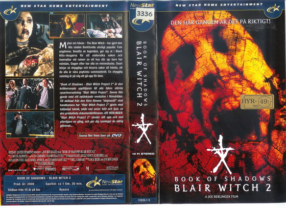 BLAIR WITCH 2 (VHS)