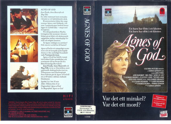 AGNES OF GOLD