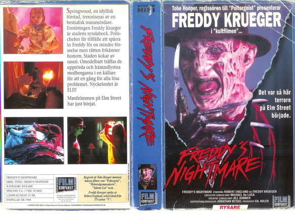 389 Freddy´s Nightmare (VHS)