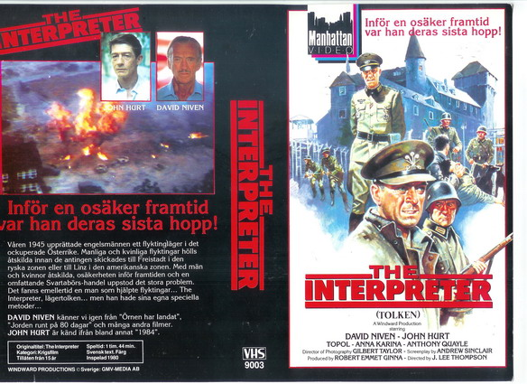 9003 INTERPRETER (VHS)