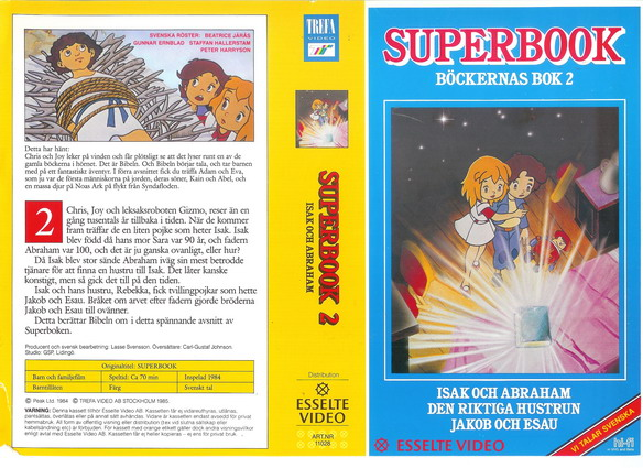 SUPERBOOK 2 (vhs)