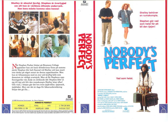 NOBODY'S PERFECT (VHS)
