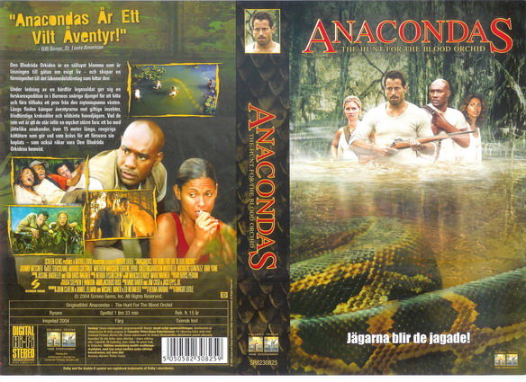 ANACONDAS-HUNT FOR THE BLOOD ORCHID (VHS)