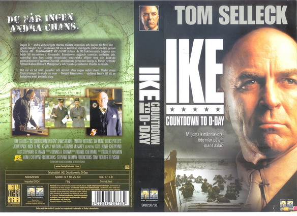 IKE COUNTDOWN TO D DAY (VHS)