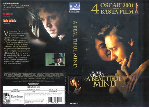 A BEAUTIFUL MIND (VHS)