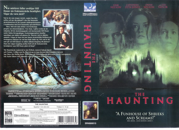 HAUNTING (VHS)