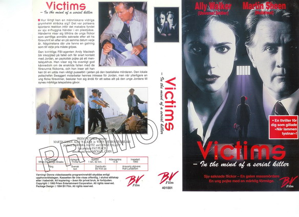 VICTIMS (VHS)