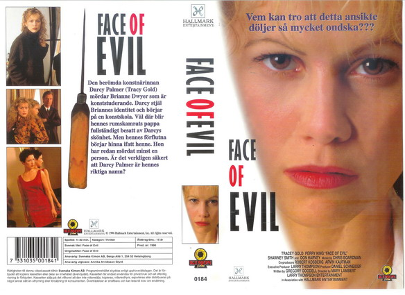 0184 FACE OF EVIL (vhs)