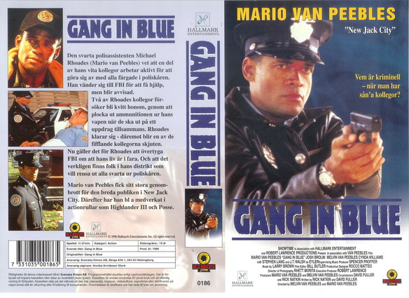 0186 GANG IN BLUE (vhs)