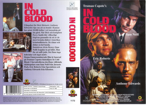1172 IN COLD BLOOD (vhs)