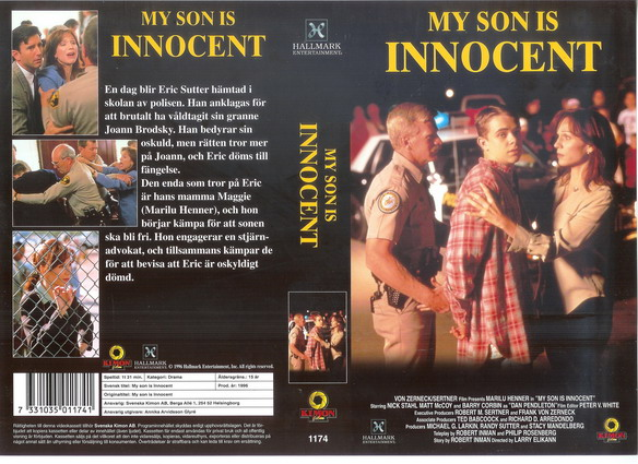 1174 MY SON IS INNICENT (vhs)