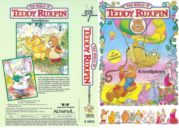WORLD OF TEDDY RUXPIN KRISTALLJAKTEN