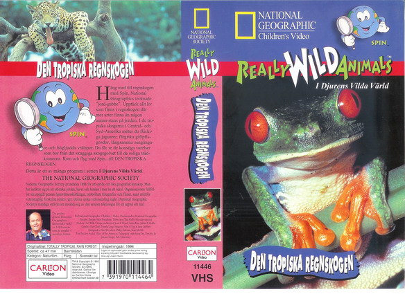 REALLY WILD ANIMALS-DEN TROPISKA