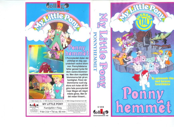 MY LITTLE PONY PONNYHEMMET