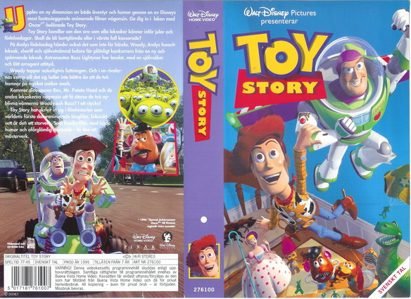 TOY STORY (VHS)