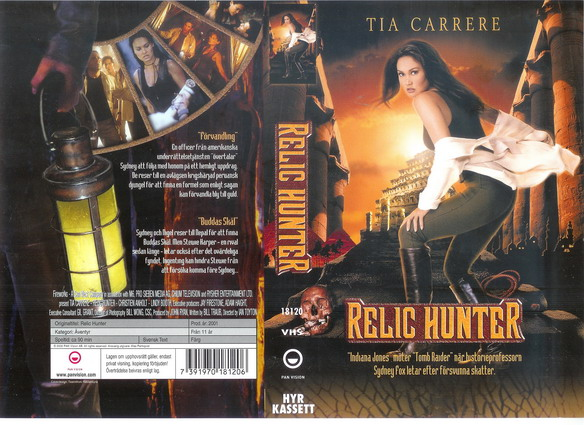 RELIC HUNTER (VHS)