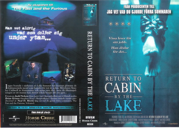 RETURN TO CABIN BY THE LAKE (VHS)
