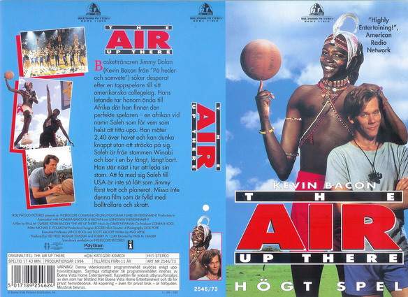 AIR UP THERE (VHS)