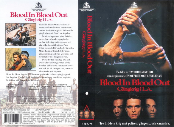 BLOOD IN BLOOD OUT (VHS)