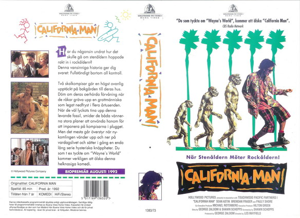 CALIFORNIA MAN (VHS)