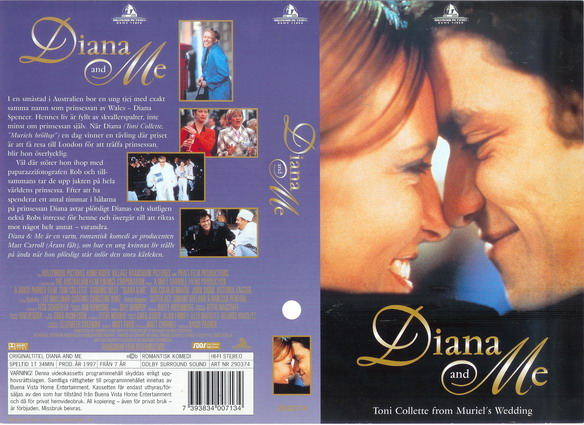 DIANA AND ME (VHS)