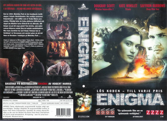 ENIGMA (VHS)