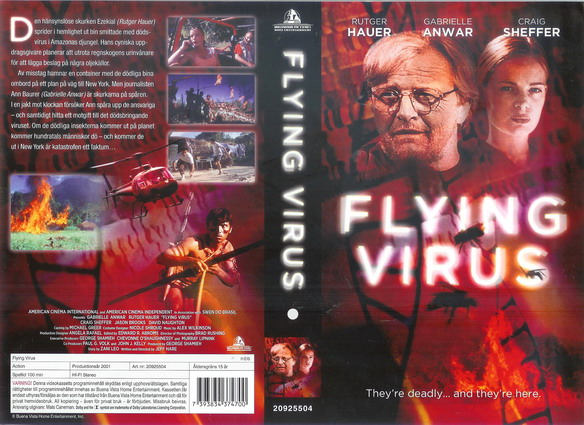 FLYING VIRUS (VHS)