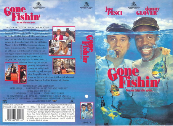 GONE FISHIN' (VHS)