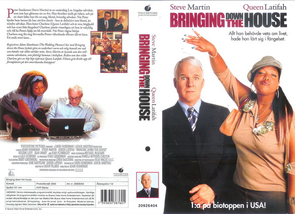 20926404 BRINGING DOWN THE HOUSE (VHS)