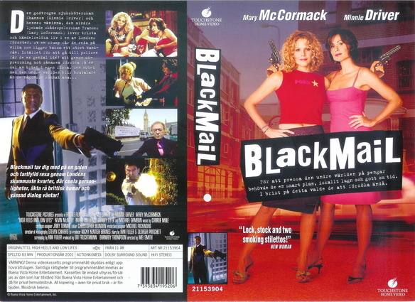 BLACKMAIL (VHS)