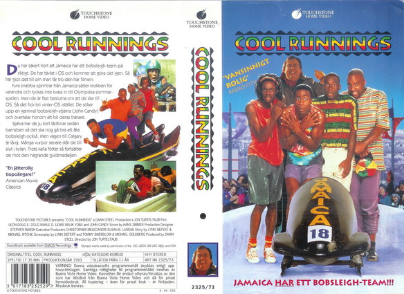 2325/73 COOL RUNNINGS (VHS)