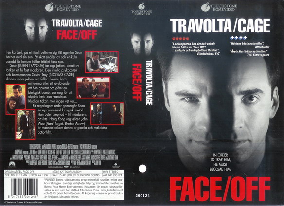 FACE/OFF (VHS)