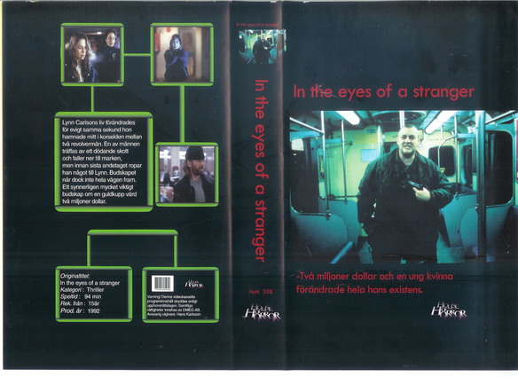 IN THE EYES OF A STRANGER (VHS)