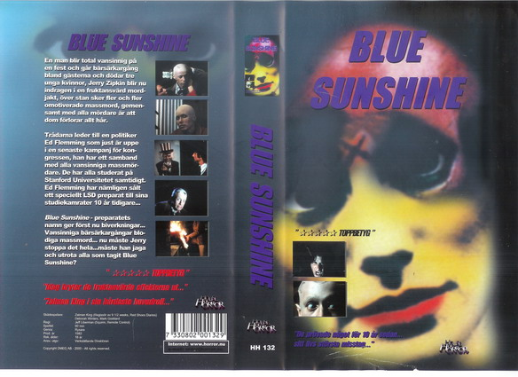 BLUE SUNSHINE (VHS)