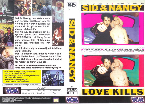 113 Sid And Nancy (VHS)